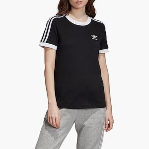 adidas Originals 3-Stripes Koszulka Czarny obraz