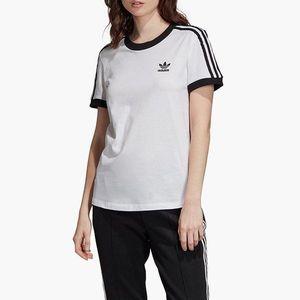 adidas Originals 3-Stripes Koszulka Biały obraz