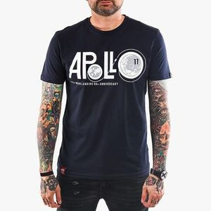 Koszulka męska Alpha Industries Apollo Moon Landing 50 198550 07 obraz