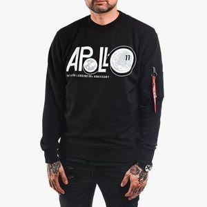 Bluza męska Alpha Industries Apollo Moon Landing 50 Sweater 198366 03 obraz