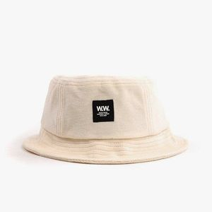 Kapelusz Wood Wood Bucket 11930806-9972 OFF-WHITE obraz