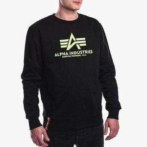 Bluza męska Alpha Industries Basic Sweater 178302 478 obraz