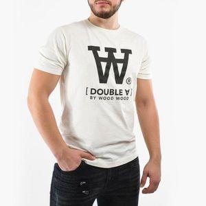 Koszulka męska Wood Wood Ace Double A 10915705-2222 Off White obraz