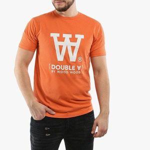 Koszulka męska Wood Wood Ace Double A 10915705-2222 Orange obraz