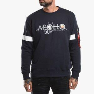 Bluza męska Alpha Industries Apollo 50 Reflective Sweater 198365 07 obraz