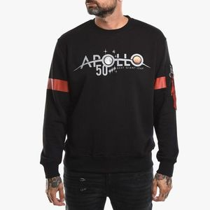 Bluza męska Alpha Industries Apollo 50 Reflective Sweater 198365 03 obraz