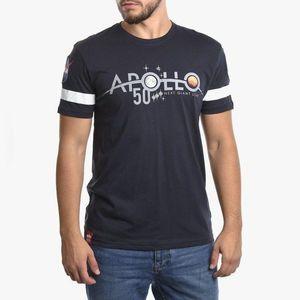 Koszulka męska Alpha Industries Apollo 50 Reflective T 198552 07 obraz