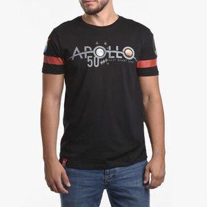 Koszulka męska Alpha Industries Apollo 50 Reflective T 198552 03 obraz