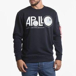 Bluza męska Alpha Industries Apollo Moon Landing 50 Sweater 198366 07 obraz
