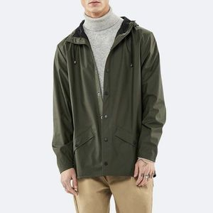 Kurtka Rains Jacket 1201 GREEN obraz