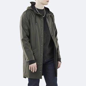 Kurtka Rains Long Jacket 1202 GREEN obraz