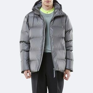 Kurtka Rains Puffer Jacket 1506 METALIC CHARCOAL obraz