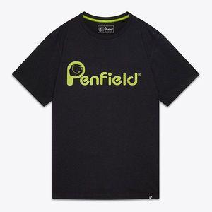 Koszulka męska Penfield Apremont PFM612671219 001 BLACK obraz