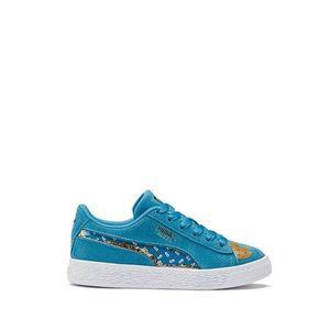 Buty dziecięce sneakersy Puma Sesame Street 50 Suede Statement PS 370383 01 obraz