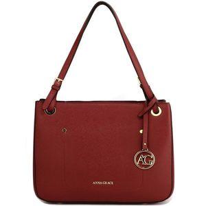 Czerwona torebka damska obraz