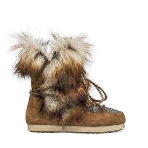 Buty damskie Moon Boot Far Side High Faux Fox Fur 24201200 001 obraz
