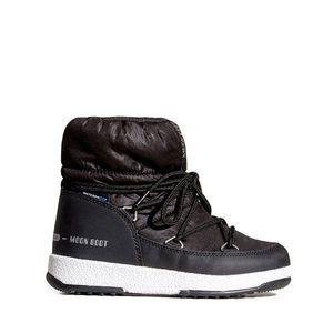 Buty dziecięce Moon Boot Low Nylon WP 34051800 001 obraz