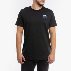 Puma Koszulka Czarny obraz