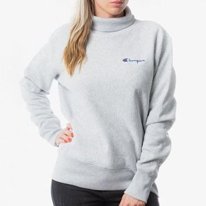 Bluza damska Champion Reverse Weave High Neck Sweatshirt 213605 EM004 obraz