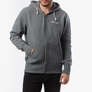 Bluza męska Champion Full Zip Sweatshirt 213604 EM519 obraz