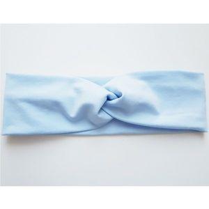 Opaska Baby Turban - Morski niebieski/44 obraz