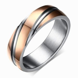 Pierścień Twist - Złoty/Różowy/52mm KP4904 obraz