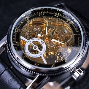 Zegarek męski Edward - Czarny/Srebrny obraz