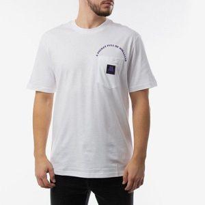Koszulka męska Carhartt WIP x Motown Pocket I027852 WHITE/PRISM VIOLET obraz