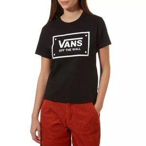 Koszulka damska Vans Boom Boom VA47W6BLK obraz