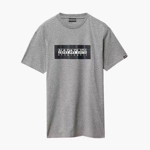 Koszulka męska Napapijri Sox Check N0YKFB 160 obraz