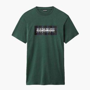 Koszulka męska Napapijri Sox Check N0YKFB GD8 obraz