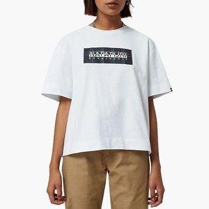 Koszulka damska Napapijri Sox Check N0YKFG 021 obraz