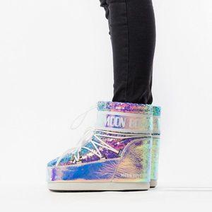 Buty dziecięce Moon Boot 50 Anniversary Leather Holo 14089400 001 obraz