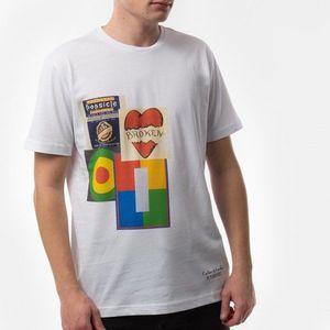 Koszulka męska Iceberg x Peter Blake T-shirt 20EI1P0 F02I 6301-1101 obraz