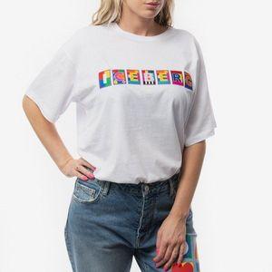 Koszulka damska Iceberg x Peter Blake T-Shirt 20EI2P0 F051 6301-1101 obraz