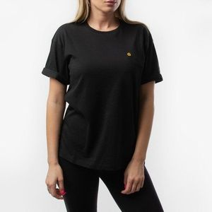 Koszulka damska Carhartt WIP Chase T-Shirt I023698 BLACK/GOLD obraz