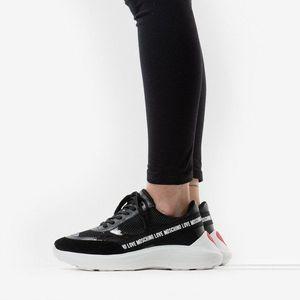 Buty damski sneakersy Love Moschino Scarpad Running 60 JA15086G1AI0100A obraz