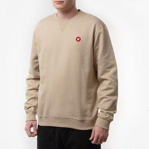 Bluza męska Wood Wood Double A Sweatshirt 10945601-2424 LIGHT KHAKI obraz