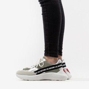 Buty damskie sneakersy Love Moschino Scarpad Running 60 JA15086G1AI0210A obraz