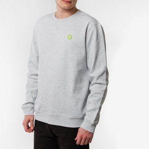 Bluza męska Wood Wood Tye Sweatshirt 10215601-2424 LIGHT GREY MELANGE obraz