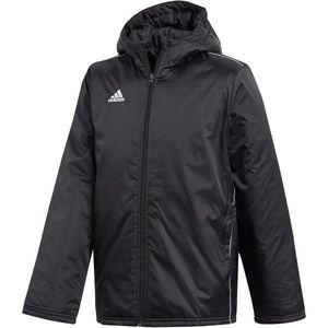 adidas CORE18 STD JKT czarny 140 - Kurtka sportowa chłopięca obraz