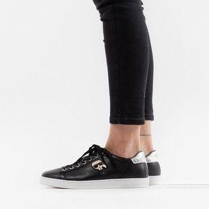 Buty damskie sneakersy Karl Lagerfeld Ikonik Lo Lace KL61230 000 obraz