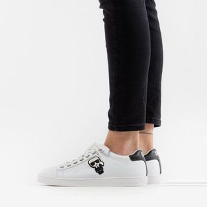 Buty damskie sneakersy Karl Lagerfeld Ikonik Lo Lace KL61230 011 obraz
