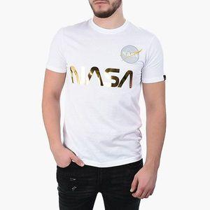Koszulka męska Alpha Industries Nasa Reflective 178501 438 obraz