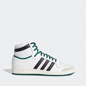 Białe sneakersy męskie obraz
