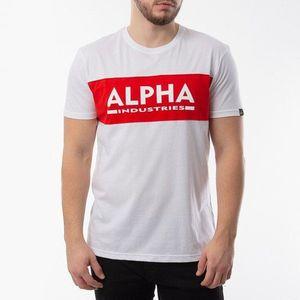 Koszulka męska Alpha Industries Alpha Inlay T 186505 09 obraz
