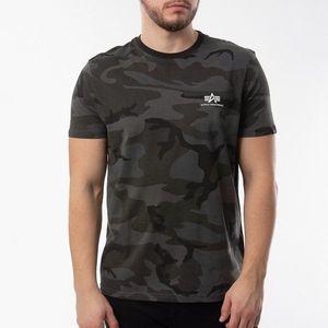 Koszulka męska Alpha Industries Basic T Small Logo 188505 125 obraz