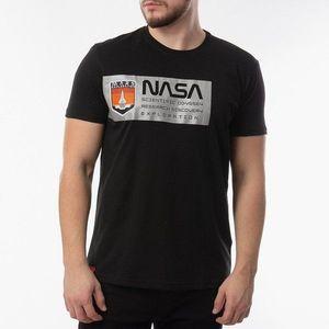 Koszulka męska Alpha Industries Mars Reflective T 126532 03 obraz