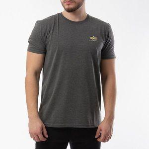 Koszulka męska Alpha Industries Basic T Small Logo 188505 315 obraz