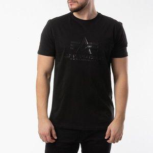 Koszulka męska Alpha Industries Vinyl Logo T 126504 03 obraz